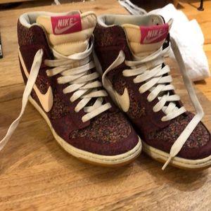 buy online 8d068 a30e5 Nike dunk sky hi liberty London pink force sz 7 US